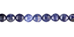 Sodalite Step Cut Round 6mm