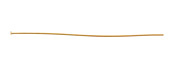 "Gold (plated) Headpin 2"", 26 gauge"