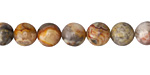 Crazy Lace Agate Round 8mm
