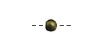 Tagua Nut Olive Round 6mm