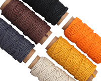 Ocean Sunrise Hemp Twine 20 lb, 29.5 ft x 6 colors