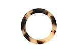 Zola Elements Light Tortoise Shell Matte Acetate Ring 24mm