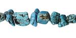 Turquoise Blue Magnesite Nugget 8-16x8-13mm