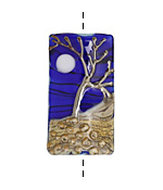Grace Lampwork Tree Of Life Kalera 20-21x38-39mm