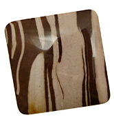 Brown Zebra Jasper Square Cabochon 47-52mm