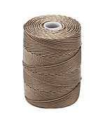C-Lon Antique Brown (.5mm) Bead Cord