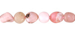 Pink Opal Pebble 6-10x6-8mm