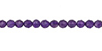Amethyst Faceted Round 4mm