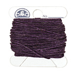 Plum Irish Waxed Linen 4 ply