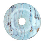Arctic (light) Terra Agate Donut 41mm