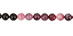 Pink Tourmaline Faceted Round 5mm