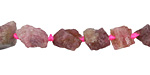 Pink Tourmaline Natural Nugget 6-10x5-8mm