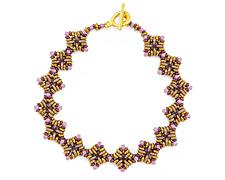 Autumn Wheat Shoals Bracelet Pattern