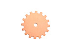 Copper Closed Gear 19mm