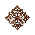 Vintaj Natural Brass Rosette Filigree 36mm