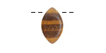 Tiger Eye Horse Eye Drop 10x17mm