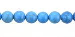 Denim Howlite Turquoise Round 8mm