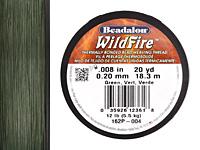 """Wildfire Green .008"""" Thread, 20 yd"""