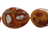 Noreena Jasper Flat Freeform Slab 26-37x20-33mm
