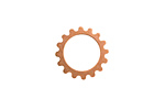 Copper Small Open Gear 16mm