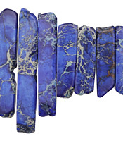 Midnight Blue Impression Jasper Graduated Stick 8-10x12-54mm