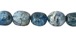 Pacific Blue Apatite Tumbled Nugget 11-13x9-11mm