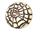 Earthenwood Studio Ceramic Spiderweb Pendant 35mm