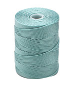 C-Lon Turquoise Fine Weight (.4mm) Bead Cord