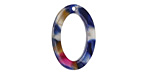 Zola Elements Twilight Acetate Oval Ring 15x22mm