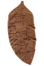 Dark Brown Cork Feather Focal 32x75mm