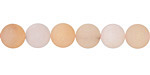 Rose Aventurine (matte) Round 8mm