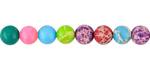 Multi Color Impression Jasper 6mm