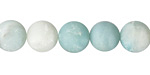 Amazonite (matte multi-color) Round 10mm