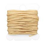 Tortilla Waxed Nylon Flat Braided Cord 1mm