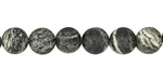 Green Zebra Jasper Round 8mm