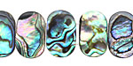 Abalone 2-Hole Side Drilled Oval 11x18mm