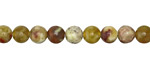 Yellow Soochow Jade Round 6mm