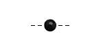 Tagua Nut Black Round 6mm