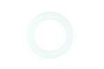 Seafoam Recycled Glass Ring 23mm