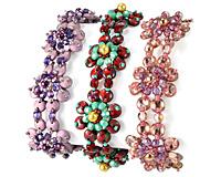 Pearls on Posies Bracelet Pattern