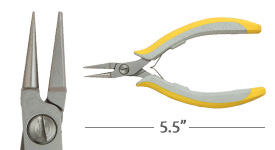 Lindstrom Round Flat Nose Pliers
