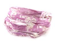 Lavender Elephant 100% Silk Sari Ribbon