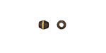 Saki Bronze Etched Band Rice 5x4mm