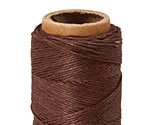 Dark Brown Hemp Twine 10 lb, 205 ft