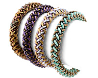 Basket Weave Bangle Pattern