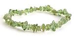 Green Apatite Chips Stretch Bracelet