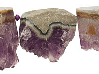 Amethyst Rough Pieces Graduated 22-35x25-35mm