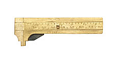 80mm Deluxe Brass Gauge