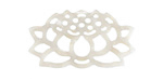 Zola Elements Pearl Acetate Openwork Lotus Focal 33x18mm