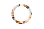 Zola Elements Mermaid Acetate Ring 24mm